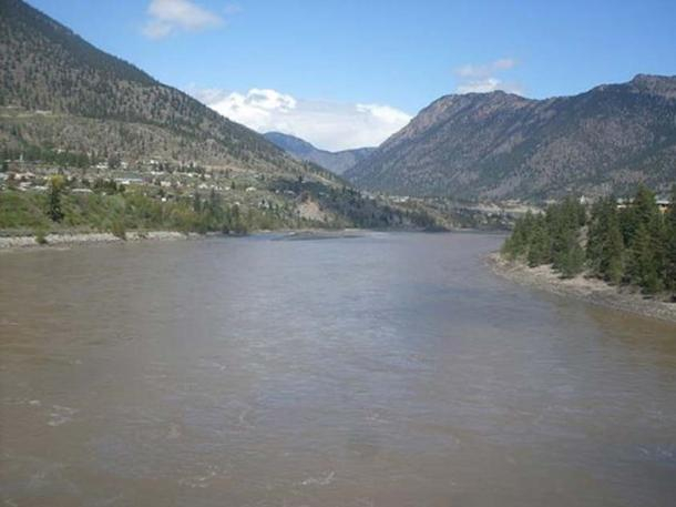 Fraser River in Lillooet. (Andybremner2012/CC BY SA 4.0)