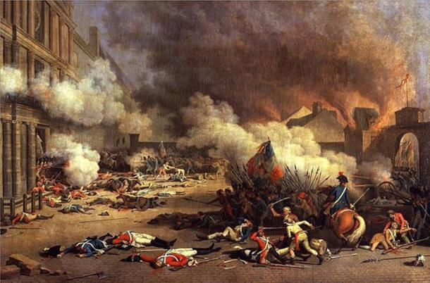 Part of the French Revolution.