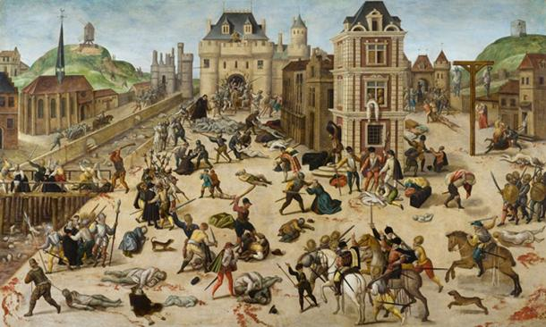 French Wars of Religion – St. Bartholomew's Day massacre. (Musée cantonal des Beaux-Arts / Public Domain)