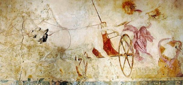 Fresco of Hades abducting Persephone. (Yann / Public Domain)