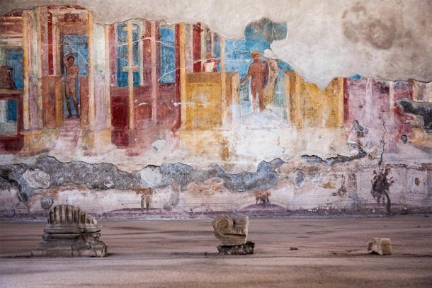 Fresco at the ancient Roman city of Pompeii. (jiduha / Adobe stock)