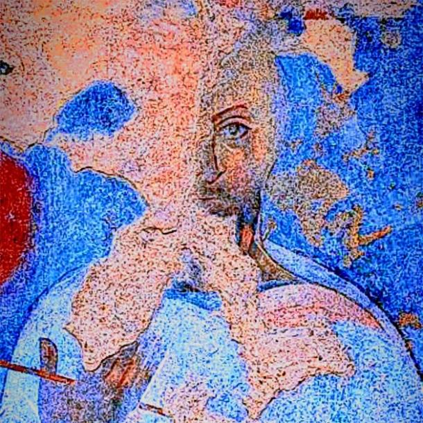 Fresco of an Islamic Caliphate.  (CC BY-SA 4.0)