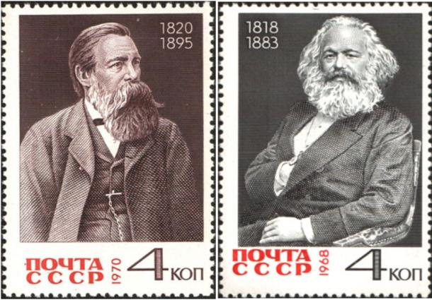 Friedrich Engels and Karl Marx, authors of the Communist Manifesto. (Public Domain / Public Domain)