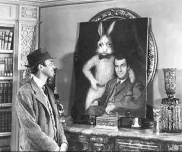From the film Harvey, 1950.