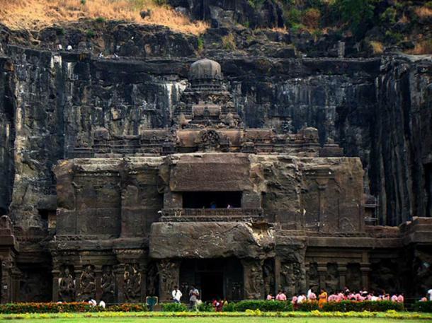 Front view of the temple. (Chinmaya Panda/CC BY SA 3.0)