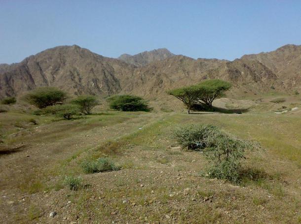 Fujairah mountain view.