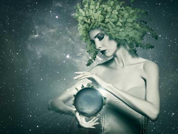 Gaea the Earth, the first female of the Greek creation myth. (Dmytro Tolokonov / Adobe Stock)