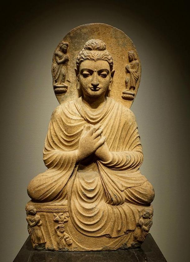 Gandharan Buddhist sculpture found in northwestern Pakistan