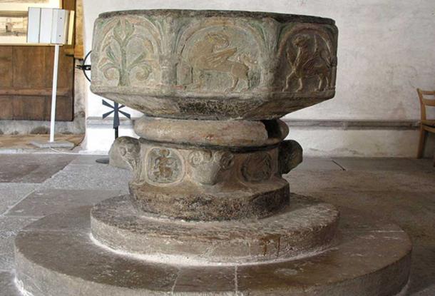 Gärde's Baptismal font