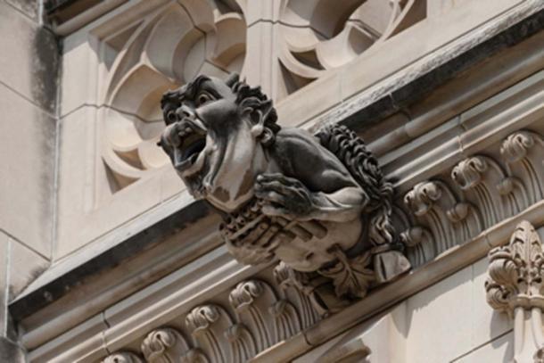 Gargoyle on the outside of the Washington National Cathedral in Washington, DC. (pabrady63 / Adobe Stock)