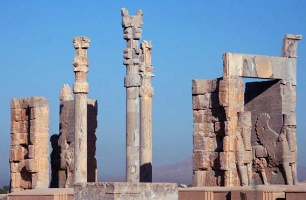 Gate of All Nations, Persepolis, Iran.