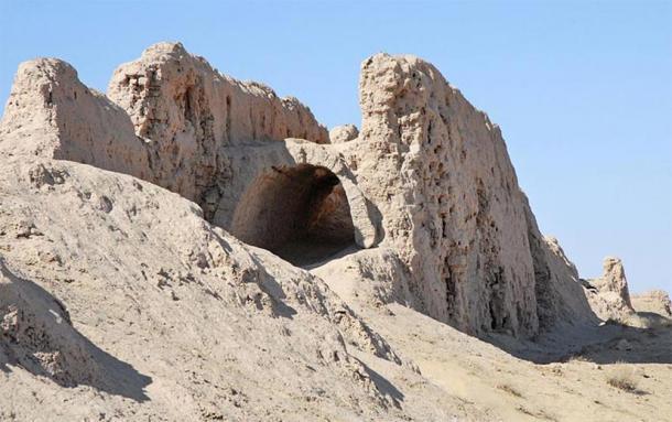 Gateway to Ayaz Kala fortress. (Jean-Pierre Dalbéra/CC BY 2.0)