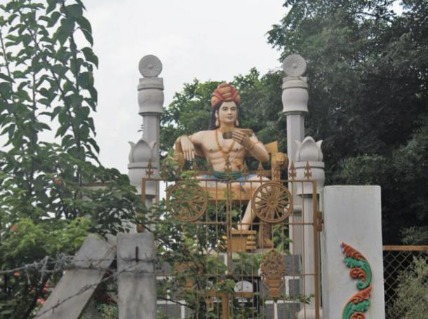 Gautamiputra Satakarni was a ruler of the Satavahana Empire, in present-day Deccan region of India. (KCVelaga / CC BY-SA 4.0)