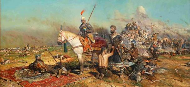 General Subutai and General Jebe defeat the Kievan Rus'.