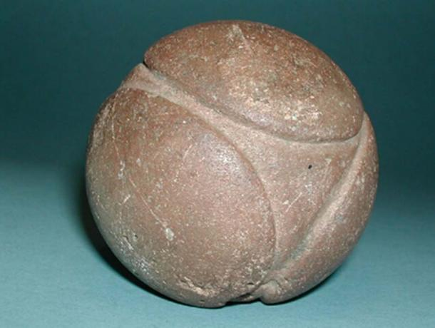 Figure 2. Geometric stone sphere found in Cumbria, England