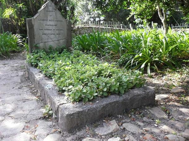 George Rex's grave in Knysna (CC BY-SA 3.0)