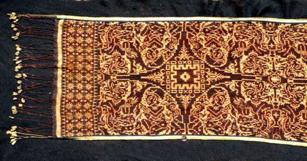 Geringsing textile from the village of Tenganan, Bali. (Chris Hazzard / CC BY-SA 3.0)