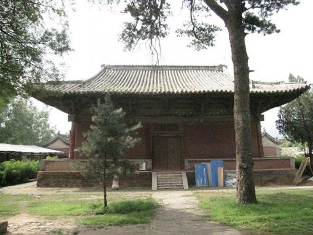 Geyuan Temple Wenshu Hall built in 966 is the oldest known extant Liao building.