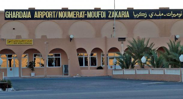 Ghardaïa's airport (Public Domain)