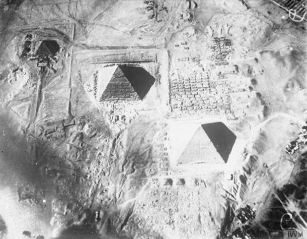 Giza Plateau. (Fæ / Public Domain)