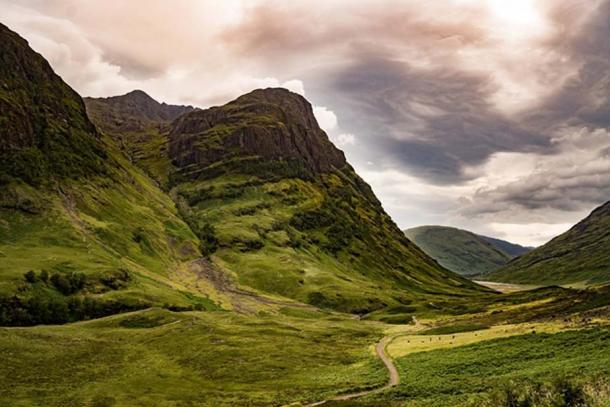 Glencoe, Scotland, the site of the MacDonald massacre.