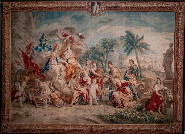 The Glorification of Minerva