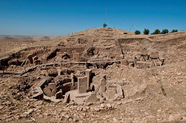 Gobekli Tepe archaeological site, southern Turkey. (CC BY-SA 3.0)