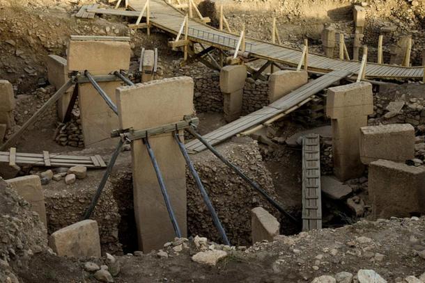 Gobekli Tepe archaeological site.