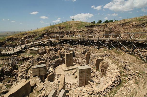 Göbekli Tepe, mysterious prehistoric site.