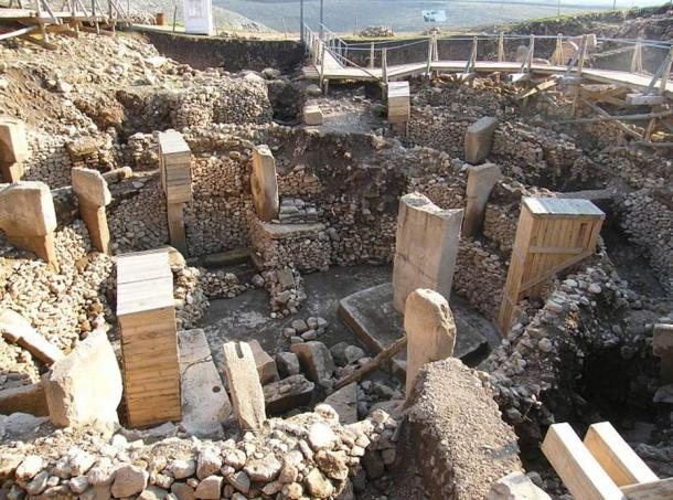 Archaeological site of Göbeklitepe in Turkey.