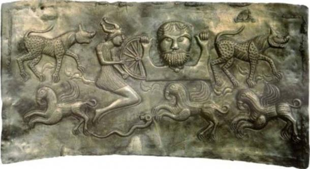 God Dagda of the Gundestrup cauldron. (Public Domain)
