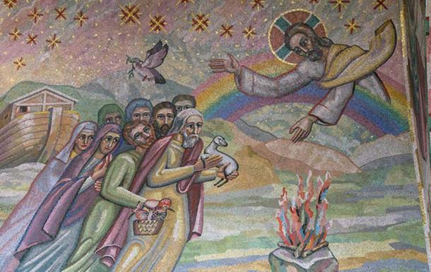 """""""God spoke to Noah and his sons, 'See, I establish my Covenant with you, and with your descendants after you…"""" (Lawrence OP/CC BY NC ND 2.0)"""
