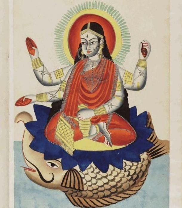 The Goddess Ganga (Unknown Author / CC BY 4.0)