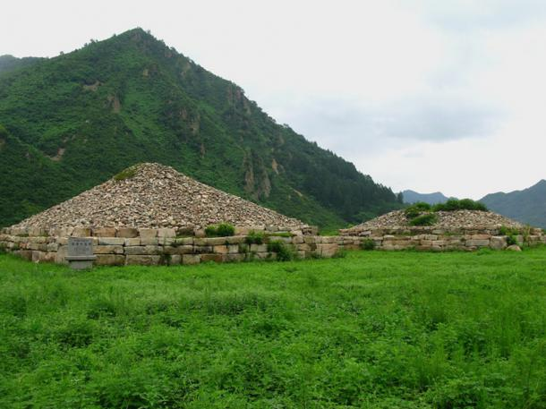 Goguryeo tombs in North Korea