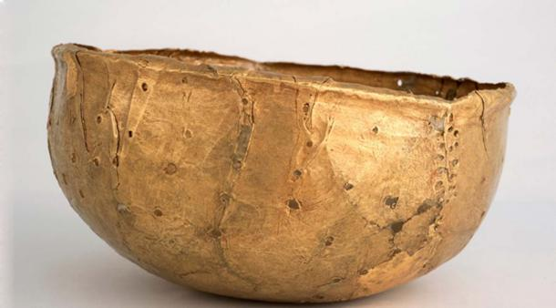 Gold vessel – thought to possibly be a crown. Department of UP Arts, University of Pretoria, Author provided