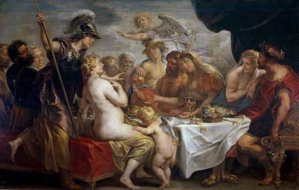 'The Golden Apple of Discord' (1633) by Jacob Jordaens.