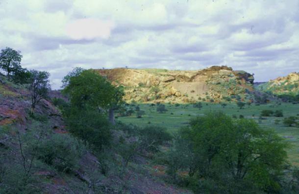 Golden Hill of Mapungubwe (Copyright University of Pretoria)
