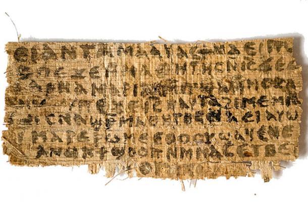 Gospel of Jesus' Wife. (Public Domain)