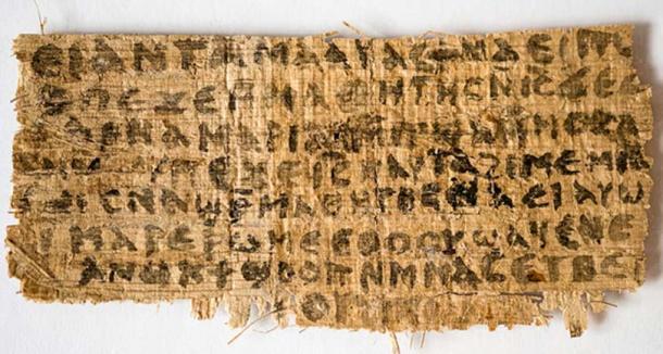 The so-called 'Gospel of Jesus' Wife'.