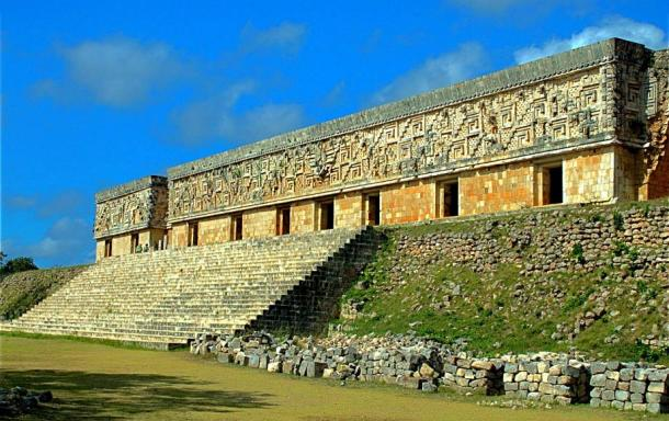 Front View of the Governor's Palace, Uxmal