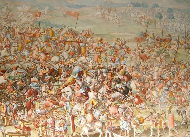 Battle of Granada between the Nasrids and Christian forces. (Fabrizio Castello, Orazio Cambiaso, Lazzaro Tavarone / Public Domain)