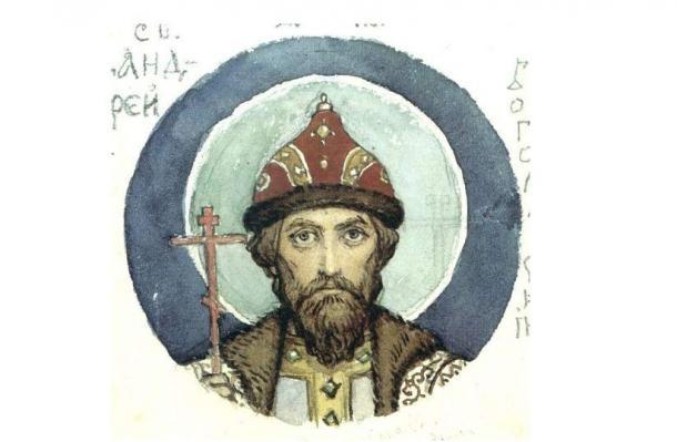 Grand Prince Andrey Bogolyubsky, by Viktor Vasnetsov
