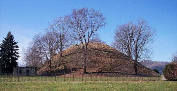 Grave Creek Mound.