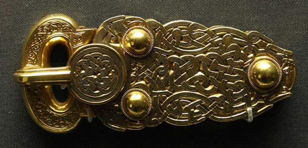 The Great Buckle found at Sutton Hoo