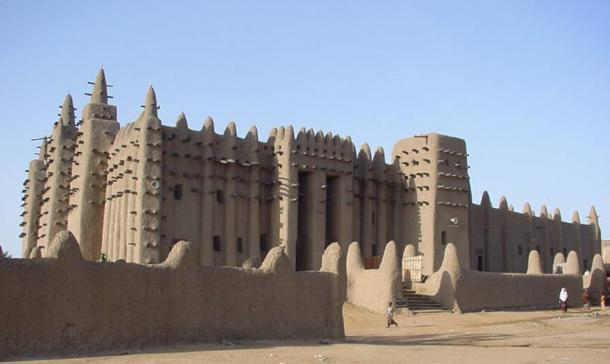 The Great Mosque of Djenne, Mali.
