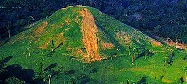 Great Pyramid at La Venta.