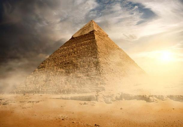 The large void was found inside the Great Pyramid of Egypt. Credit: BigStockPhoto