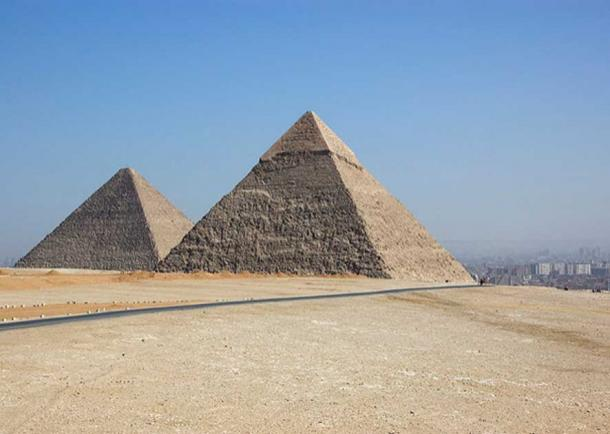 Great Pyramid of Giza, Egypt. (Keith Yahl/CC BY 2.0)