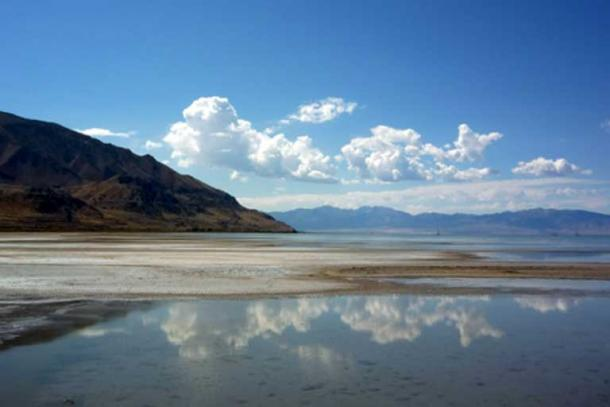 Great Salt Lake, Utah.