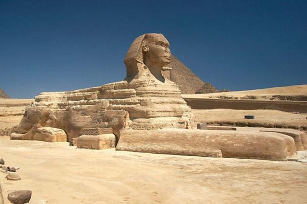 Great Sphinx of Giza, Egypt. (CC BY-SA 3.0